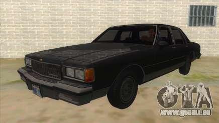 Chevrolet Caprice Brougham 1986 pour GTA San Andreas
