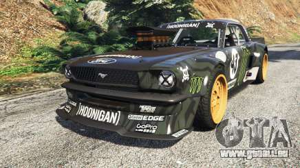 Ford Mustang 1965 Hoonicorn drift [add-on] für GTA 5