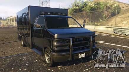 Ambulance SAMU Santa Catarina Brasil pour GTA 5