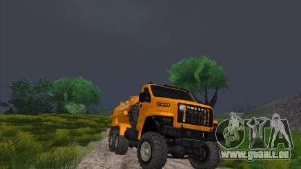 Oural De Carburant Du Camion À Côté pour GTA San Andreas