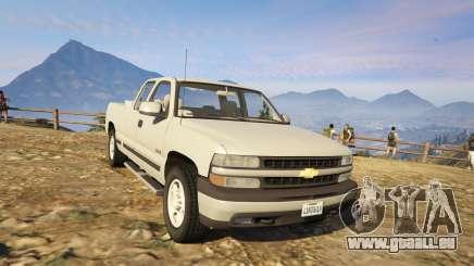 2000 Chevrolet Silverado 1500 für GTA 5