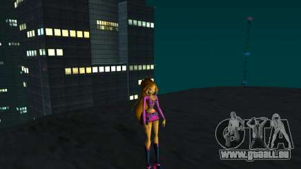Flora Rock Outfit from Winx Club Rockstars pour GTA San Andreas
