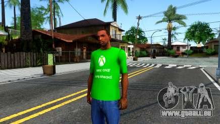 T-Shirt Xbox1 für GTA San Andreas