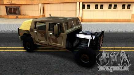 New Patriot GTA V für GTA San Andreas