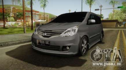 Nissan Grand Livina Highway Star pour GTA San Andreas