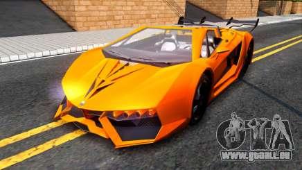 GTA V Pegassi Lampo Roadster für GTA San Andreas