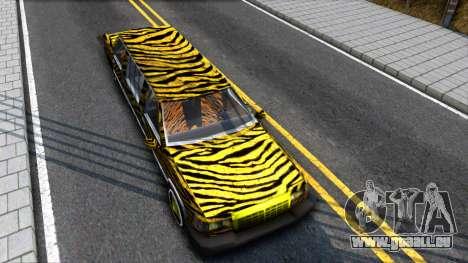 STReTTTcH LoWriDEr pour GTA San Andreas vue de droite