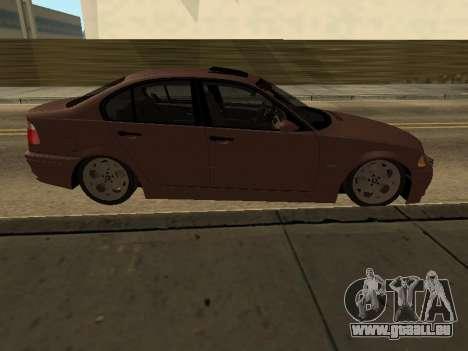 BMW 320i Armenian für GTA San Andreas linke Ansicht