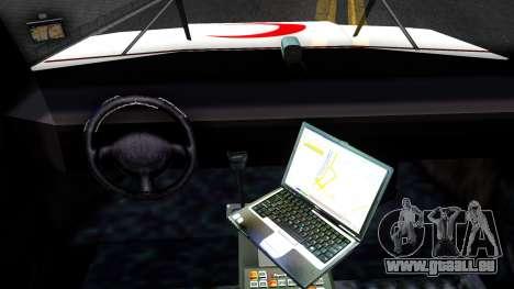 Ambulance Malaysia für GTA San Andreas Innenansicht