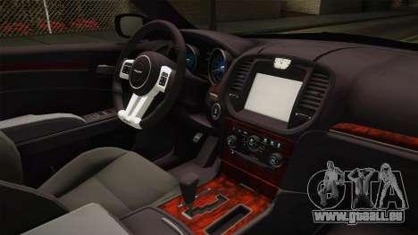 Chrysler 300C 2012 für GTA San Andreas Innenansicht