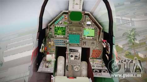 EMB Dassault Mirage 2000-N FAB pour GTA San Andreas vue arrière