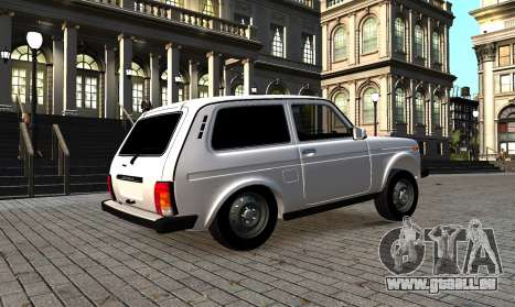 VAZ Niva 2121 azelow pour GTA 4