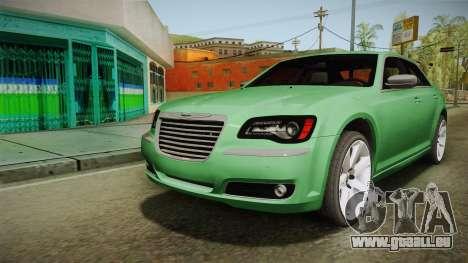 Chrysler 300C 2012 für GTA San Andreas zurück linke Ansicht