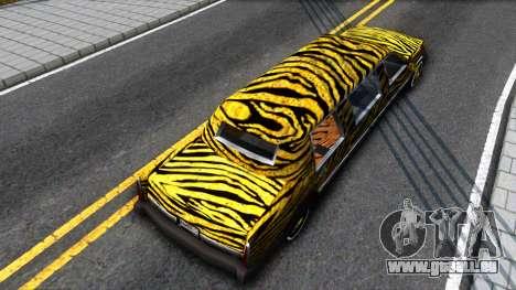 STReTTTcH LoWriDEr pour GTA San Andreas vue arrière