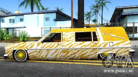 LoW RiDeR RoMeR0 pour GTA San Andreas laissé vue