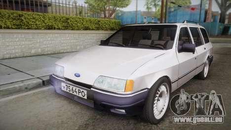 Ford Sierra Tournier 2.3D CL 1988 pour GTA San Andreas