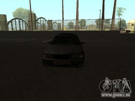 BMW 320i Armenian für GTA San Andreas rechten Ansicht
