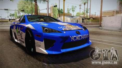 Lexus LFA Rem The Blue of ReZero pour GTA San Andreas