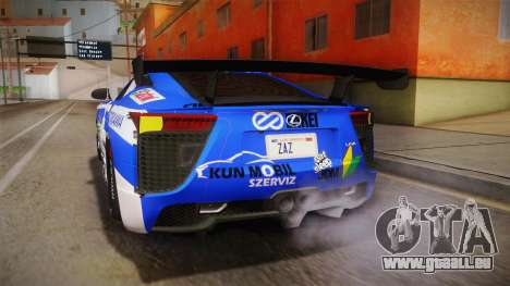 Lexus LFA Rem The Blue of ReZero pour GTA San Andreas salon