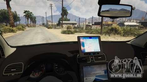 GTA 5 SIPA Policija rechte Seitenansicht
