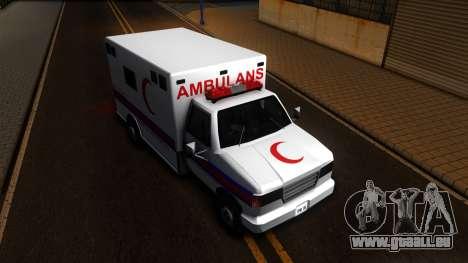 Ambulance Malaysia für GTA San Andreas rechten Ansicht