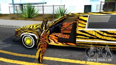 STReTTTcH LoWriDEr pour GTA San Andreas vue intérieure