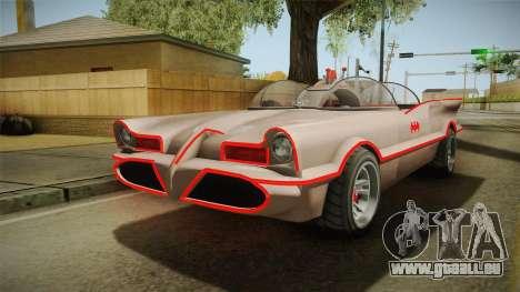GTA 5 Vapid Peyote Batmobile 66 IVF für GTA San Andreas