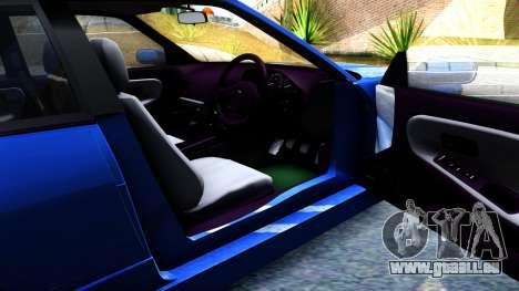 Nissan Silvia S13 für GTA San Andreas Innenansicht