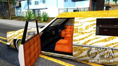LoW RiDeR RoMeR0 pour GTA San Andreas vue intérieure