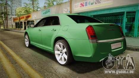 Chrysler 300C 2012 für GTA San Andreas linke Ansicht