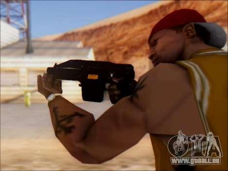 GTA 5 Shrewsbury Sweeper Shotgun für GTA San Andreas zweiten Screenshot