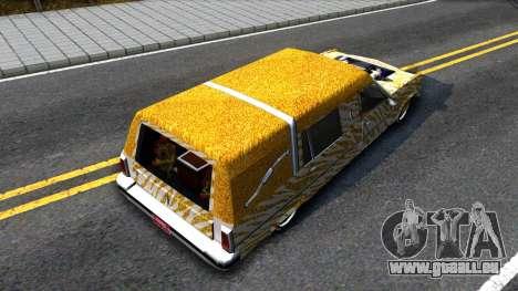 LoW RiDeR RoMeR0 pour GTA San Andreas vue arrière