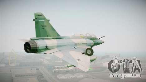 EMB Dassault Mirage 2000-N FAB pour GTA San Andreas vue de droite