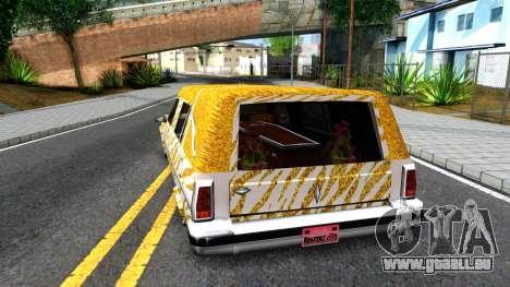 LoW RiDeR RoMeR0 pour GTA San Andreas sur la vue arrière gauche
