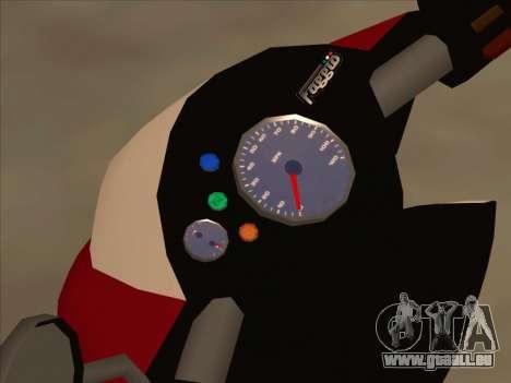 GTA IV Faggio pour GTA San Andreas vue de droite