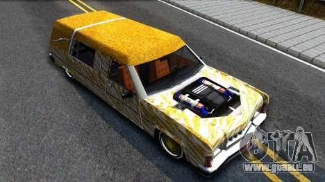 LoW RiDeR RoMeR0 pour GTA San Andreas vue de droite
