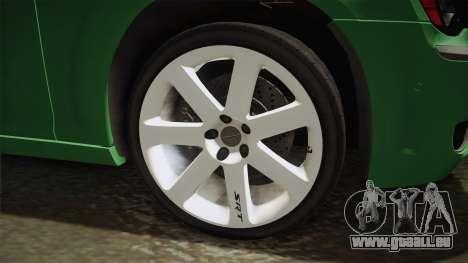 Chrysler 300C 2012 für GTA San Andreas Rückansicht