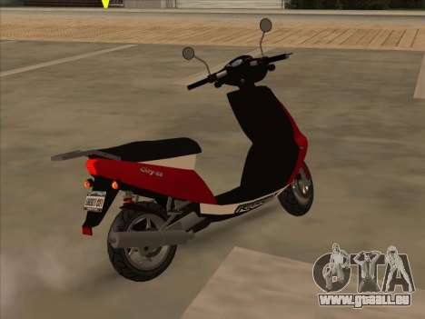 GTA IV Faggio pour GTA San Andreas laissé vue