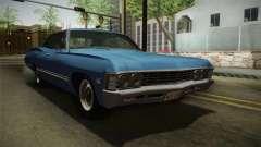 Chevrolet Impala Sport Sedan 396 Turbo-Jet 1967 pour GTA San Andreas