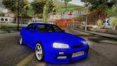 Nissan Skyline ER34 Rocket Bunny für GTA San Andreas