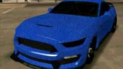 Ford Mustang BLUE STYLE