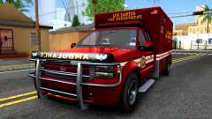 GTA V Vapid Sadler Ambulance für GTA San Andreas