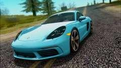 Porsche 718 Cayman S 2017 für GTA San Andreas