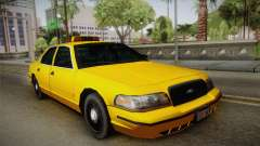 Ford Crown Victoria Taxi für GTA San Andreas