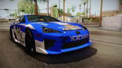 Lexus LFA Rem The Blue of ReZero für GTA San Andreas