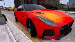 Jaguar F-Type SVR v1.0 2016