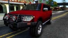 Mitsubishi Pajero IV pour GTA San Andreas