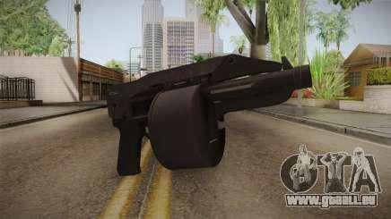 Bikers DLC Sweeper Shotgun für GTA San Andreas