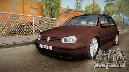 Volkswagen Golf Mk4 pour GTA San Andreas