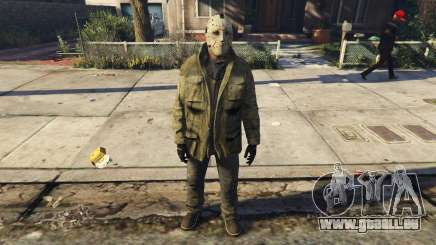 Jason Voorhes Ped model v3 pour GTA 5